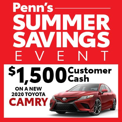New 2020 Toyota Camry Customer Cash