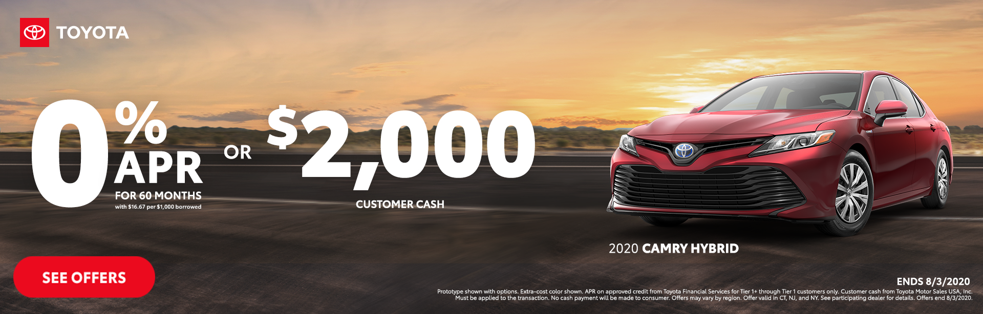 Camry Hybrid Offer