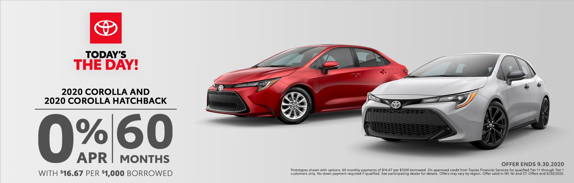 Corolla and Corolla Hatchback Desktop