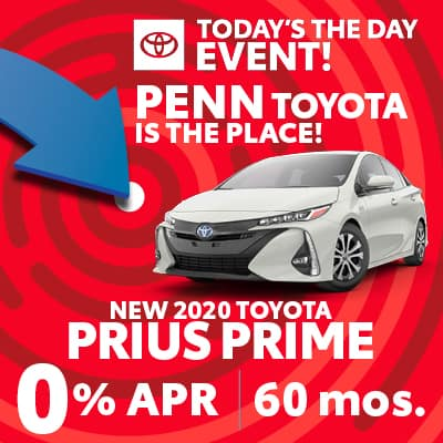 0% FOR 60 MONTHS ON NEW 2020 PRIUS PRIME
