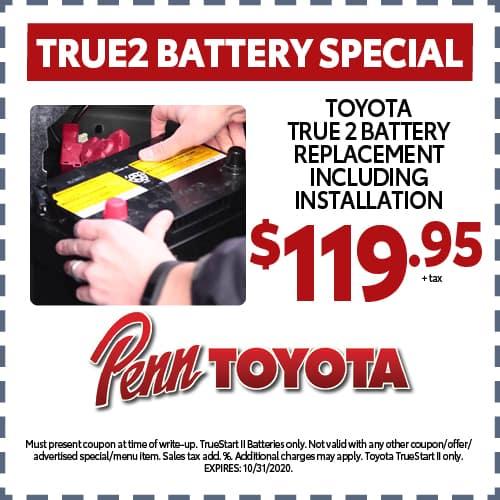 True2 Battery Special