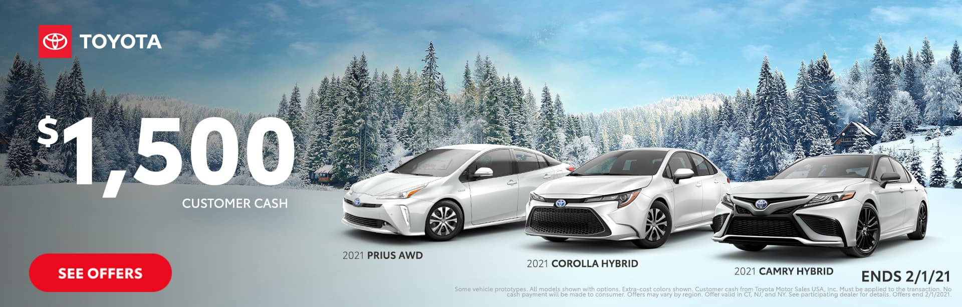 Winter Sales Event Offers