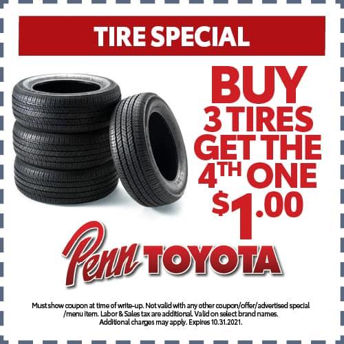 October Tire Special