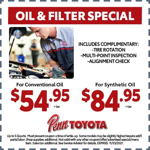 Oil and Filter Special