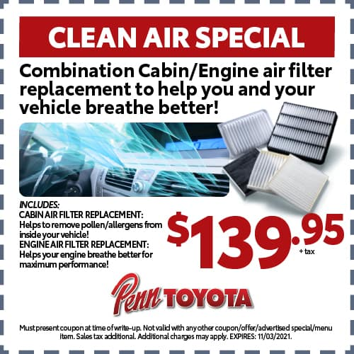 October Clean Air Special