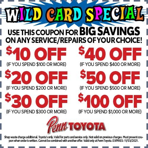October Wild Card Special
