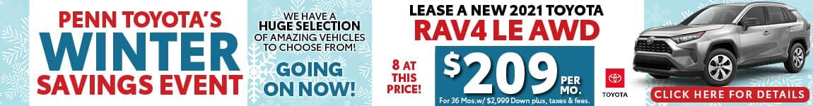 Rav4 Winter Savings