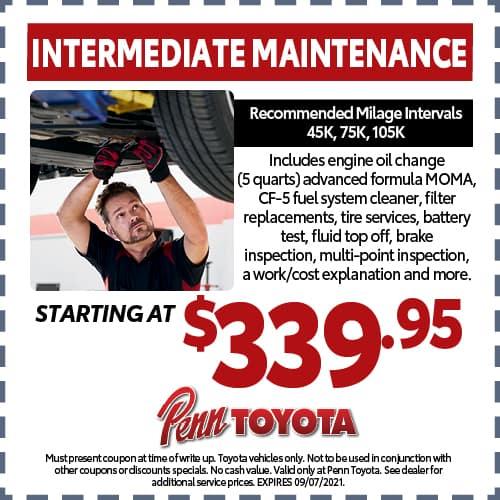 Intermediate Maintenance