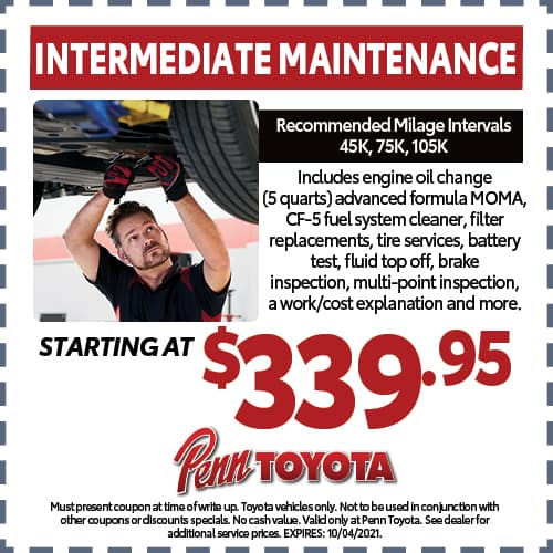 Intermediate Maintenance Special