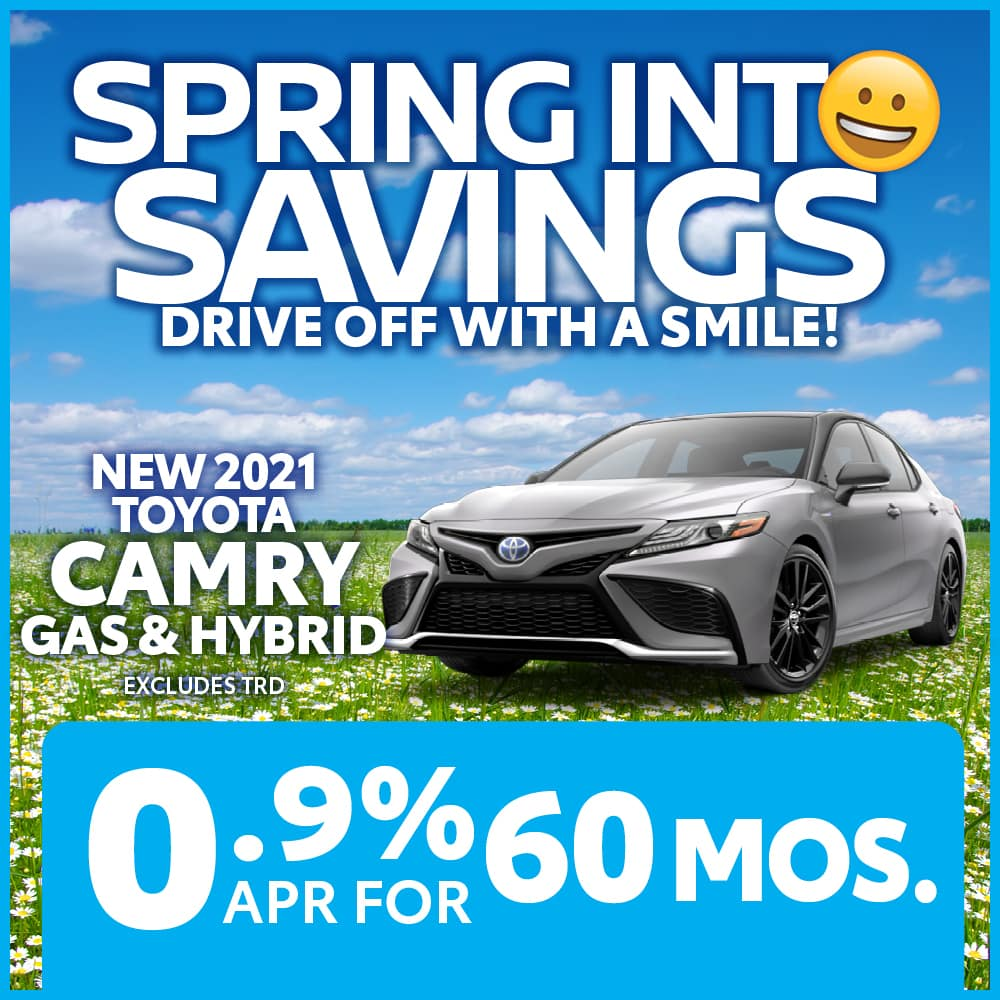 New 2021 Toyota Camry Gas and Hybrid