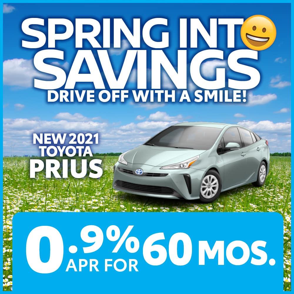 New 2021 Toyota Prius