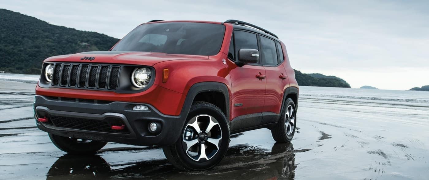 2020 Jeep Renegade, Dark Orange Exterior