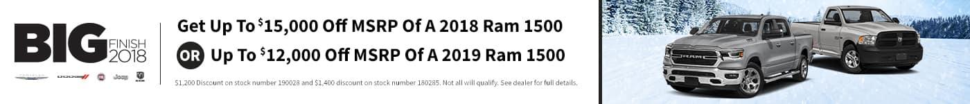 Ram Big Finish