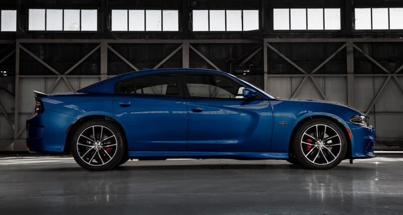 2018 Dodge Charger Side View