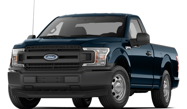 2018 Ford F-150 white background
