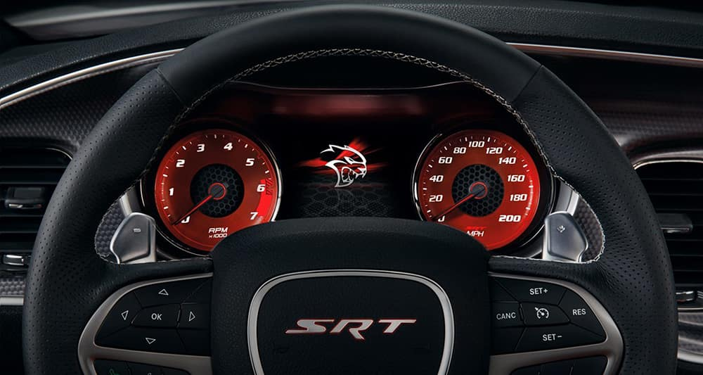 2018 Dodge Charger interior features