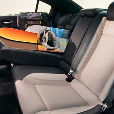 2018 Dodge Charger rear seating