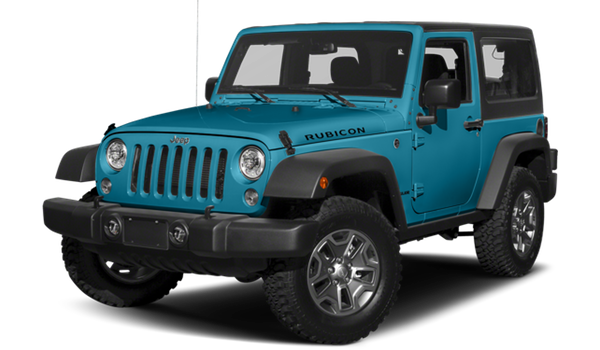 2018 Jeep Wrangler white background