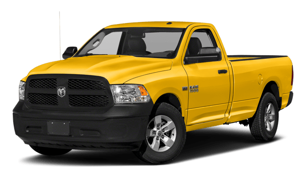 2018 Ram 1500 white background