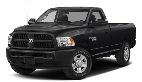 2018 Ram 2500 white background