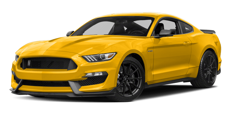 2018 Ford Mustang Shelby yellow exterior