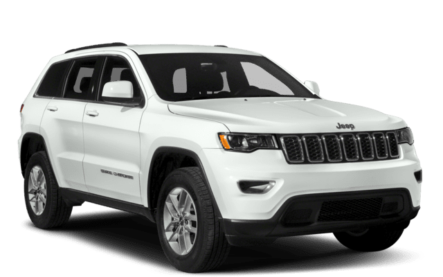 2018 Jeep Grand Cherokee Laredo 4x2 white exterior model