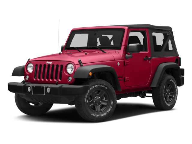 Red 2018 Jeep Wrangler JK