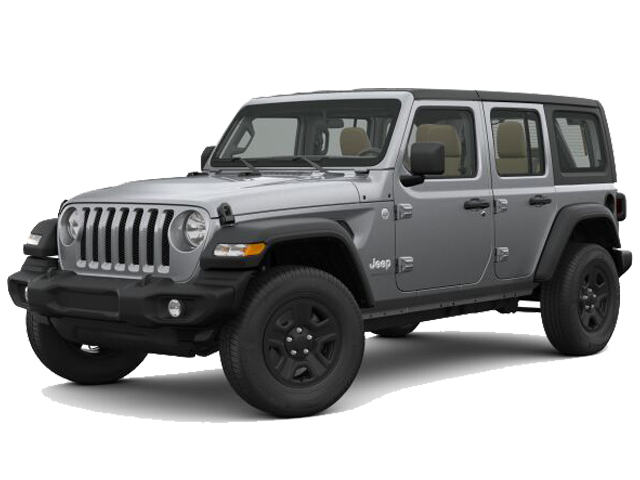 Gray 2018 Jeep Wrangler