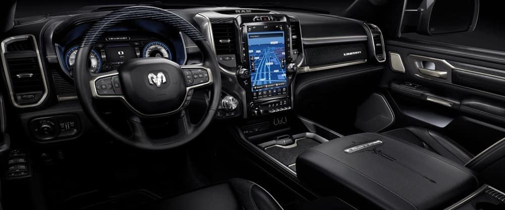 2018 RAM 1500 UConnect technology feature