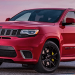 2019 Grand Cherokee red SUV
