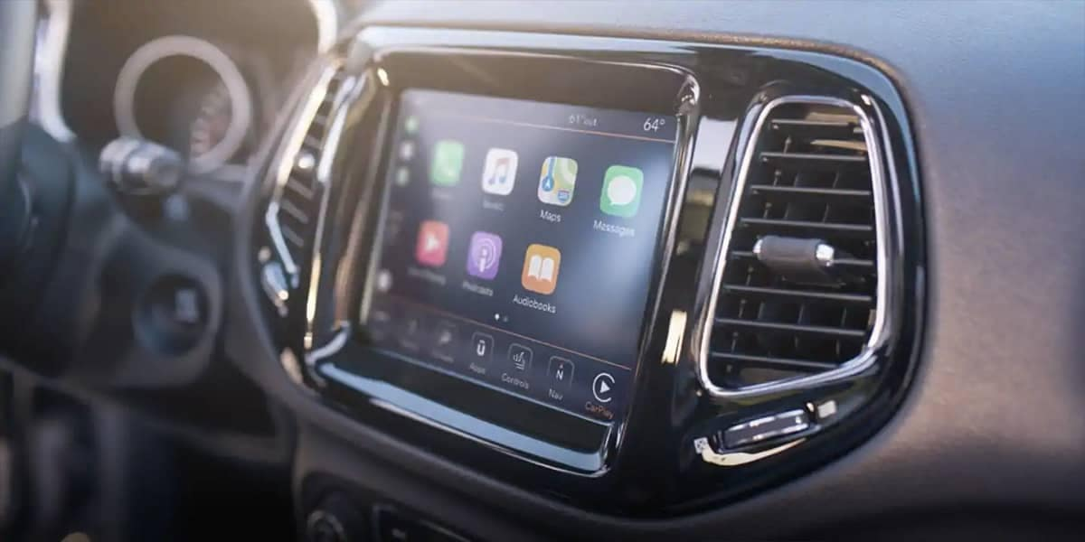 2019 Jeep Compass Touchscreen