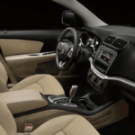 Dodge Journey interior seating and dashboard