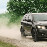 2019 Dodge Journey driving on highway at 25 MPG