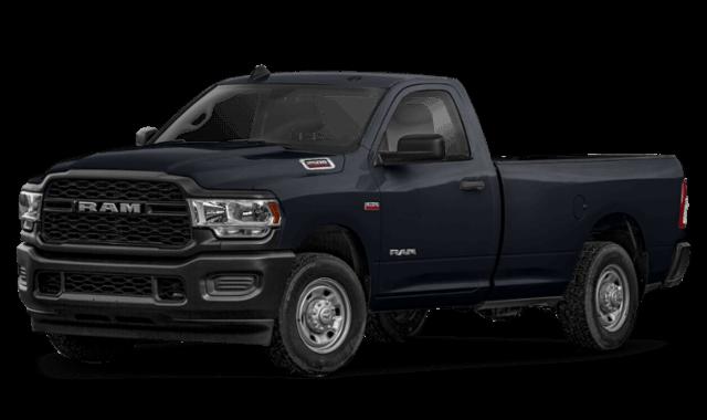 2019 RAM 2500 tradesman black truck