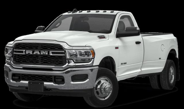 2019 RAM 3500 Heavy Duty White Truck