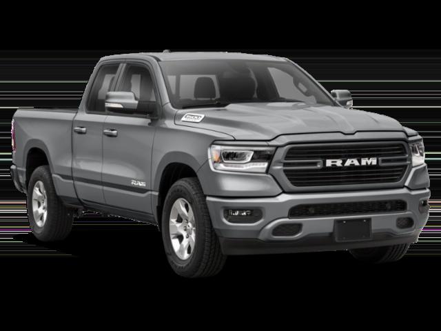 2020 RAM 1500 grey truck thumbnail
