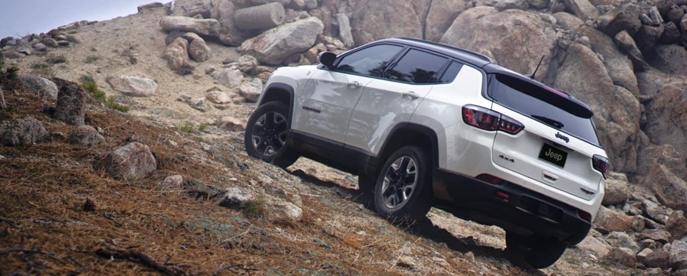 2020 Jeep Compass, White Exterior