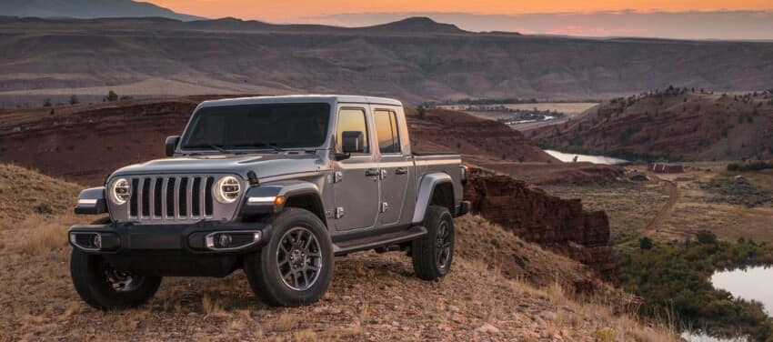 Jeep Gladiator in Mountains