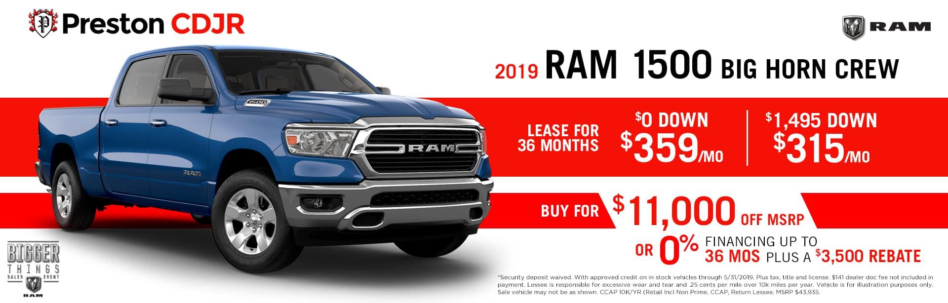 Ram 1500 Bighorn