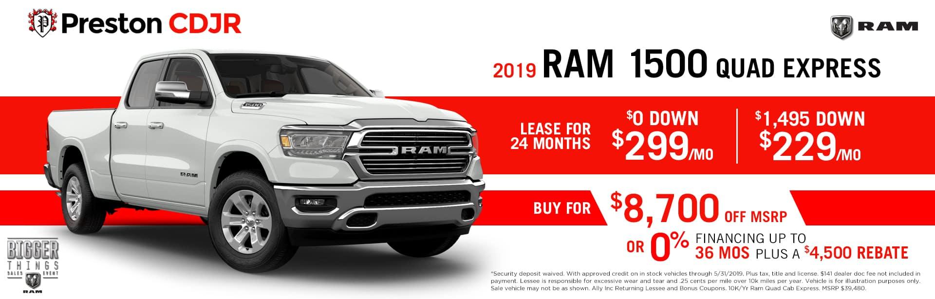 Ram 1500 Quad Express