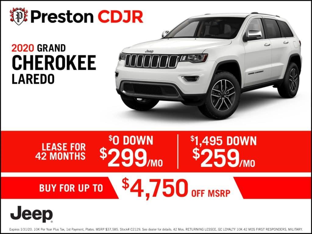2020 Grand Cherokee Laredo