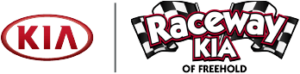 The Raceway Kia and Kia logos