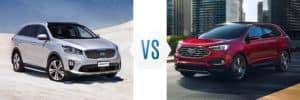 2019 Kia Sorento vs Ford Edge
