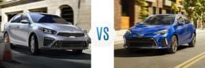2019 Kia Forte vs Toyota Corolla
