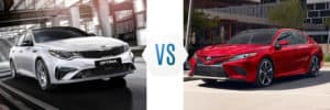 2019 Kia Optima vs Toyota Camry