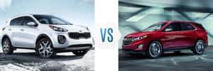 2019 Kia Sportage vs Chevrolet Equinox
