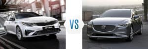 2019 Kia Optima vs Mazda 6