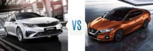 2019 Kia Optima vs Nissan Maxima