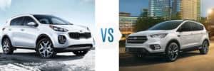 2019 Kia Sportage vs Ford Escape