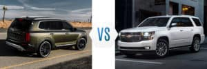2020 Kia Telluride vs Chevrolet Tahoe